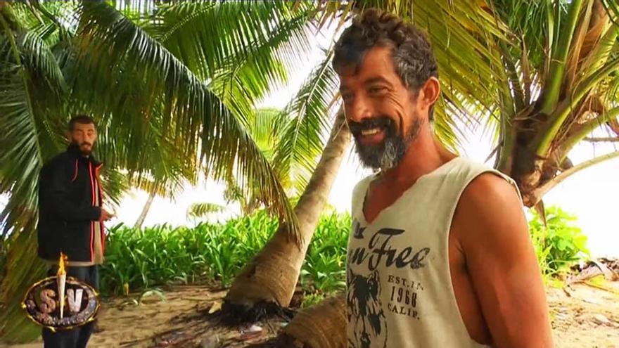 El lío de José Luis en Supervivientes con Lobatón y el hombre del tiempo