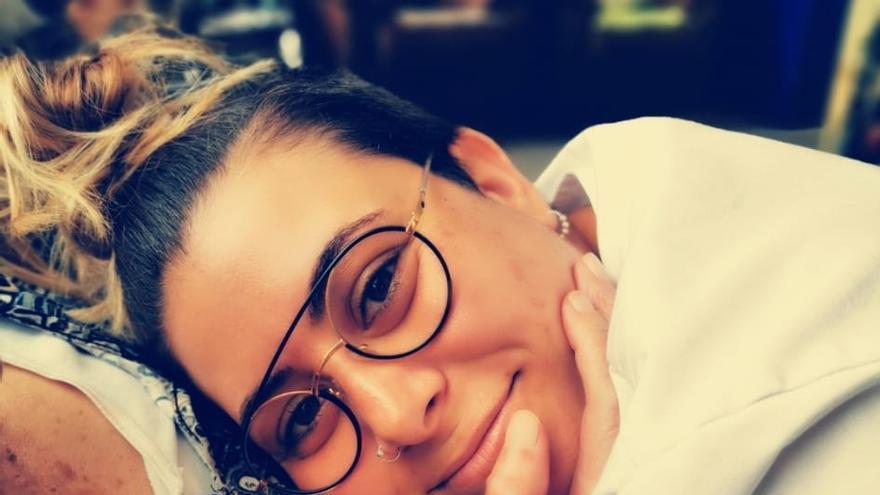 Giselle Torres Rodríguez es técnica de Atención Sociosanitaria en la Residencia de Mayores de Santo Domingo de Garafía.