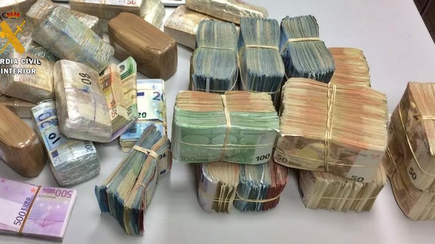 euros contrabando frontera Badajoz