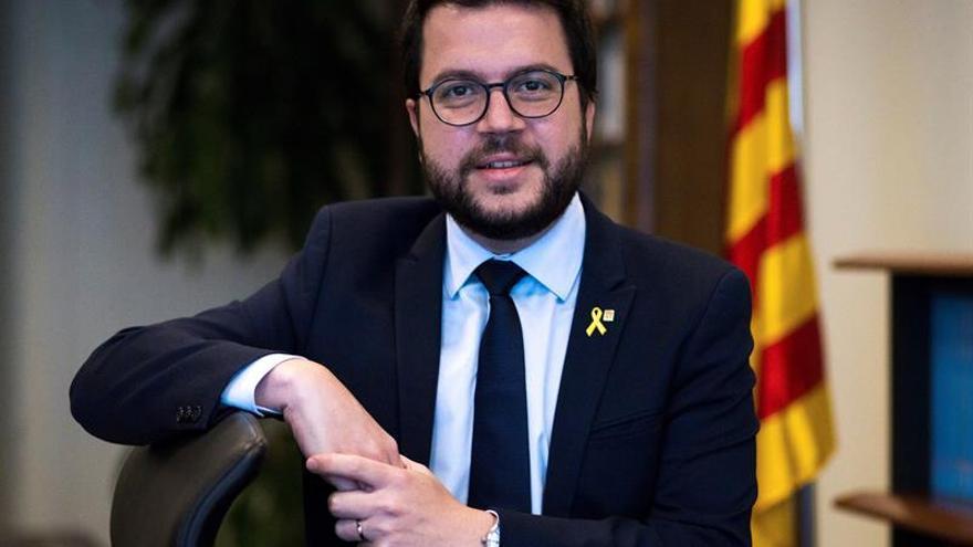 Aragonès: No hará falta que Torra se plantee dimitir porque habrá presupuesto