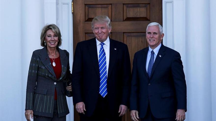 Donald Trump nombra a Betsy DeVos como secretaria de Educación de EE.UU.