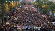 Unas 5.000 personas exigen en Lleida la libertad de los exconsellers