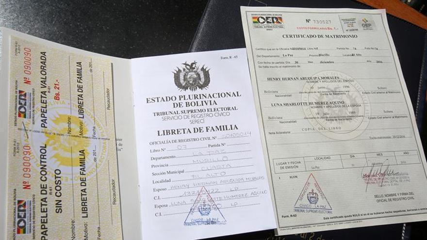 Tribunal de Bolivia declara ilegal el matrimonio entre personas del mismo sexo