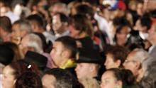 La bajada de la Virgen del Pino congrega a 250.000 personas en Las Palmas