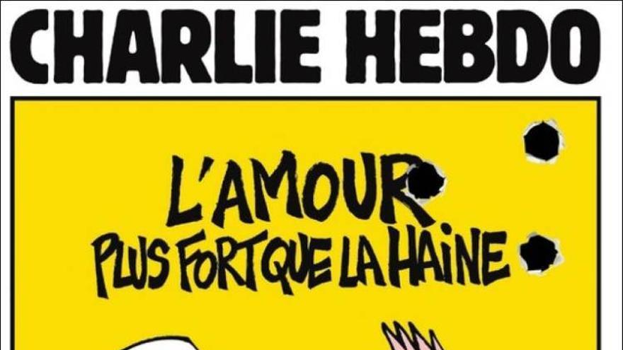 El diario holandés Nrc-Next recupera una antigua portada de Charile Hebdo y la convierte en la suya