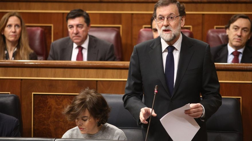 """Moncloa dice que Rajoy no planteará mañana """"golpes de efecto"""" en el debate de las pensiones y pedirá responsabilidad"""