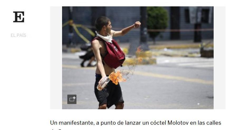 Post de El País
