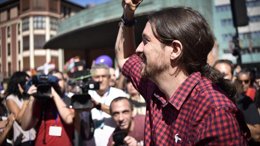 Iglesias: el derecho a decidir estará en la base de cualquier pacto en Euskadi
