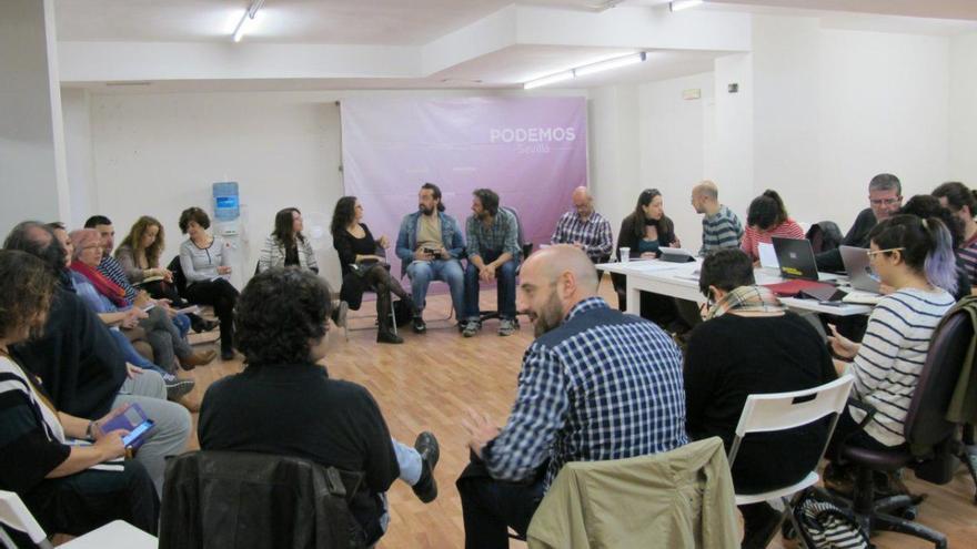 Reunión del Consejo Ciudadano Andaluz (CCA).