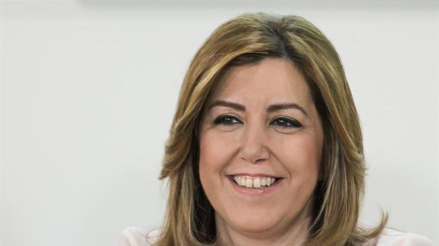 """Díaz pide """"permiso"""" a su agrupación para presentarse a la dirección del PSOE"""