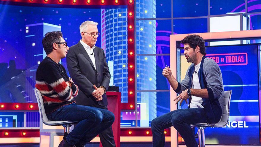 Berto Romero, Sardá y Miguel Ángel Muñoz, en 'Juego de niños'