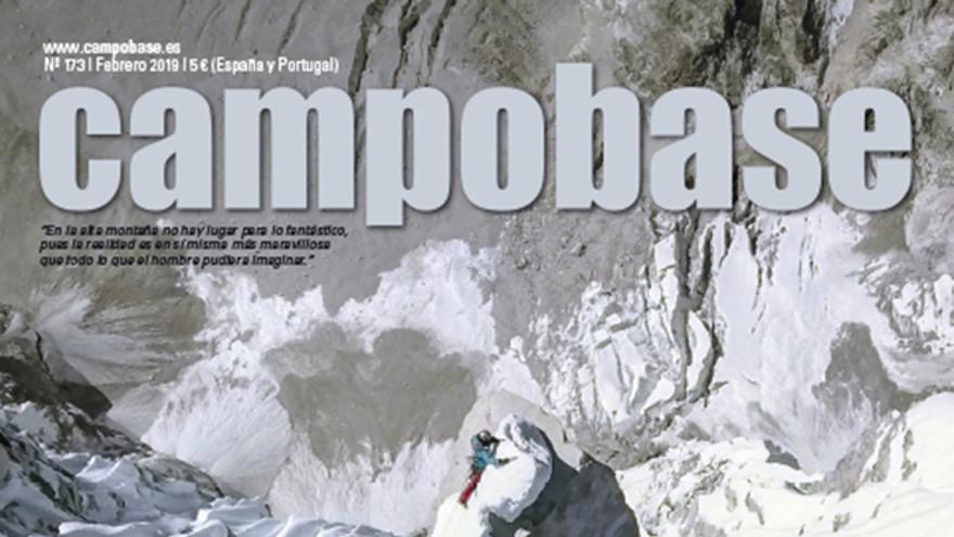 David Lama llegando a la cima del Lunag Ri, el pasado 25 de octubre de 2018.