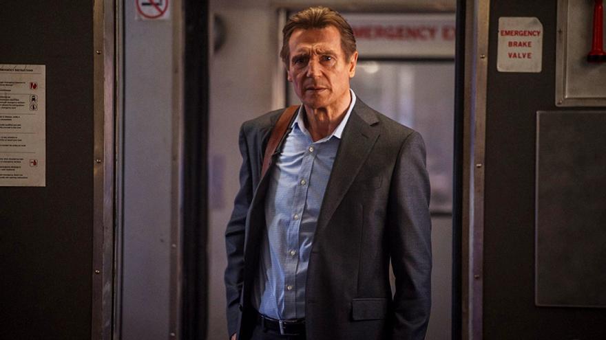 Liam Neeson en 'El Pasajero'