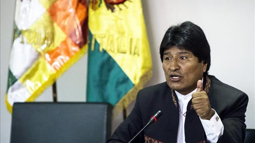 """Morales dice que EE.UU. e Israel no tienen """"moral"""" para criticar a Bolivia"""