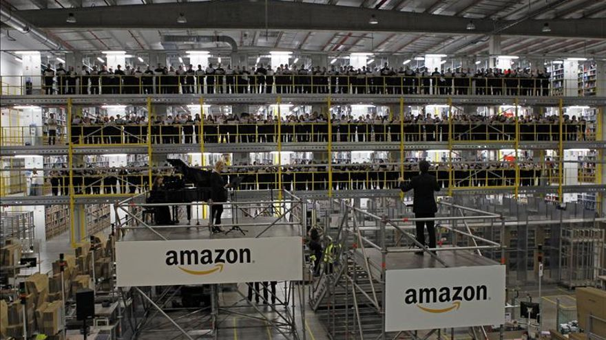 Amazon duplicará su centro de Madrid y creará 1.000 empleos en tres años