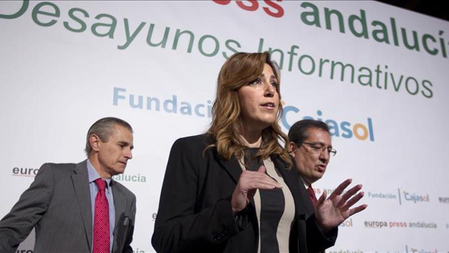 Díaz invita al PP a sumarse a la concertación y dice que se corregirán los errores