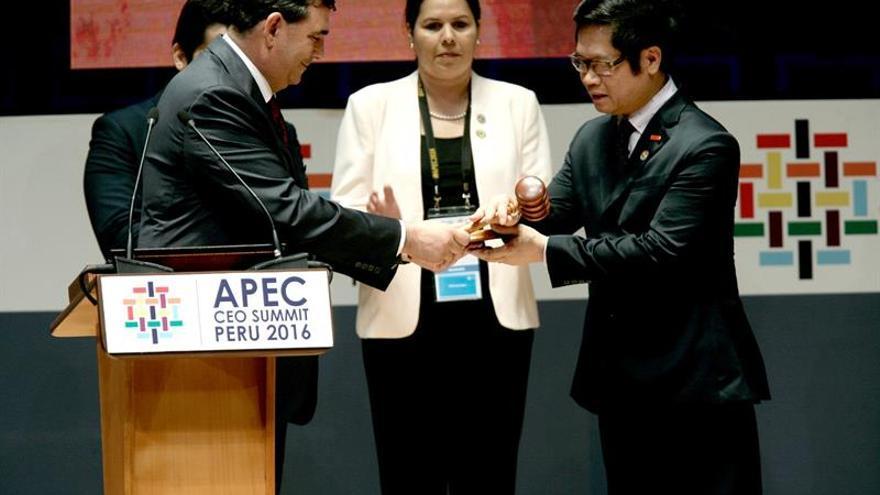 Los líderes de APEC cerrarán hoy una cumbre orientada contra el proteccionismo