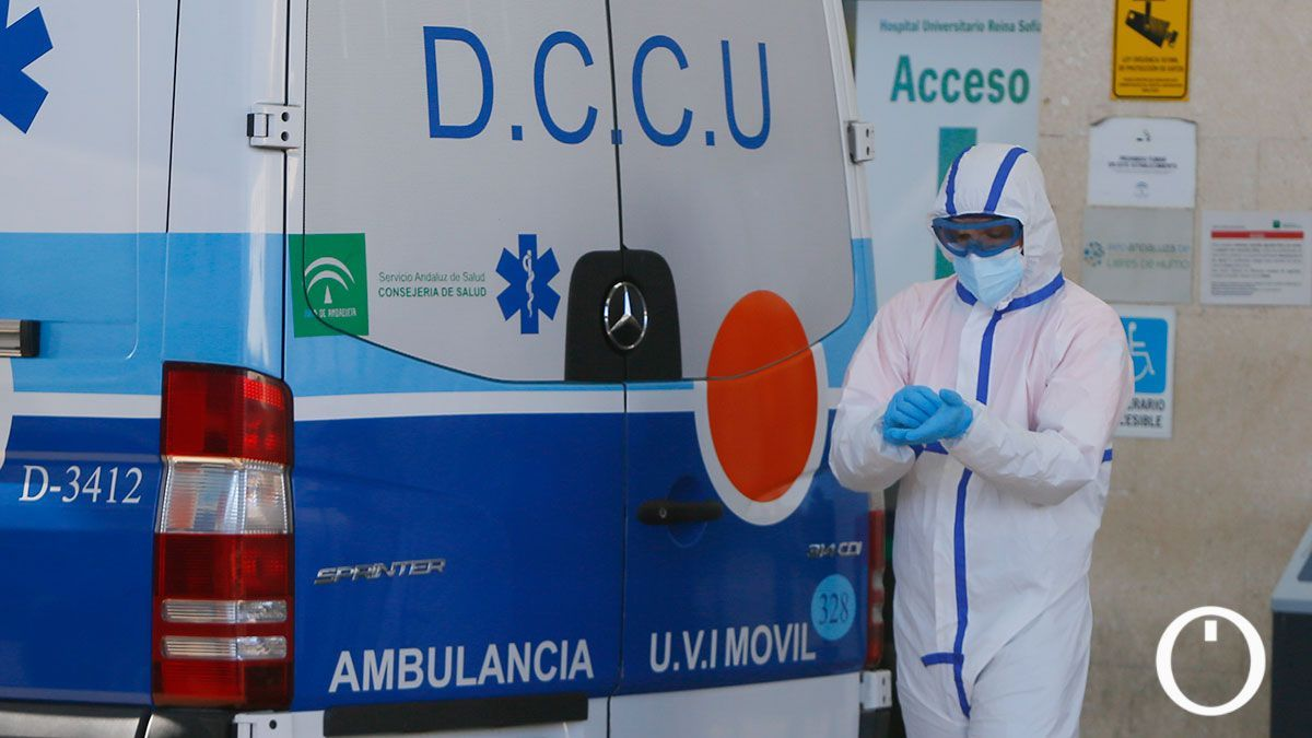 Urgencias del Hospital Reina Sofía.