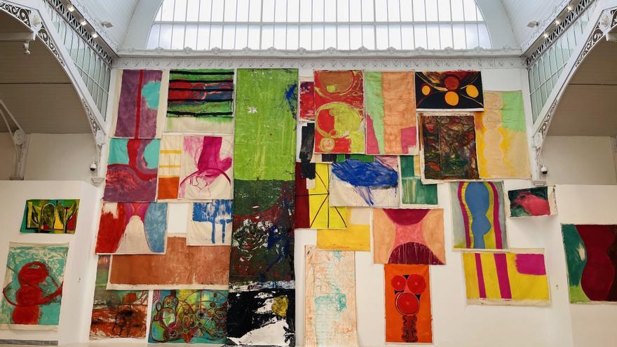 La naturaleza, musa y artista en la obra de Vivian Suter