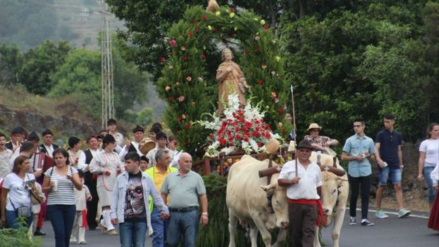 Imagen de la Romería de San Isidro de 2016 realizada por José Ayut.