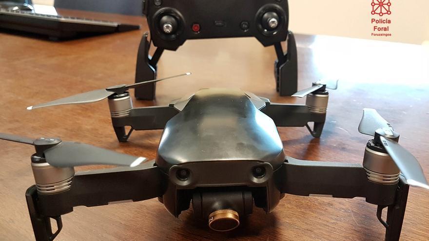 Interceptados tres drones sobrevolando la ciudad durante las fiestas