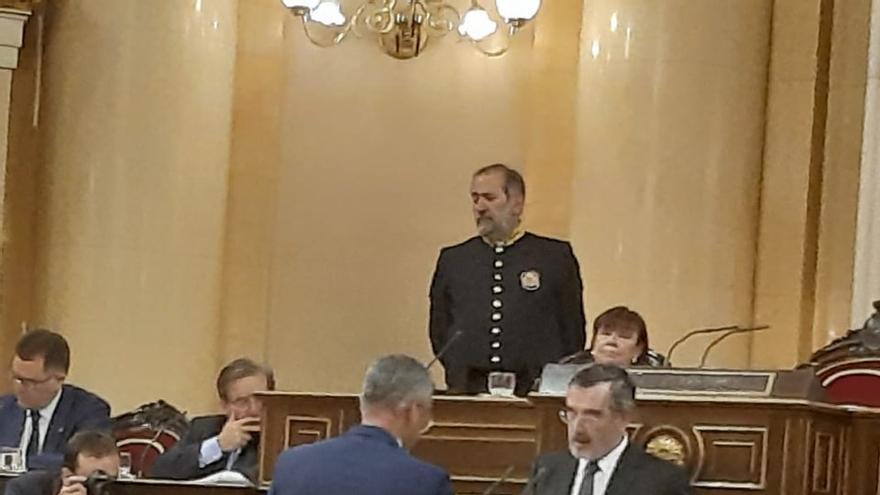 Toma de posesión de Sergio Matos, este martes, como senador de La Palma.