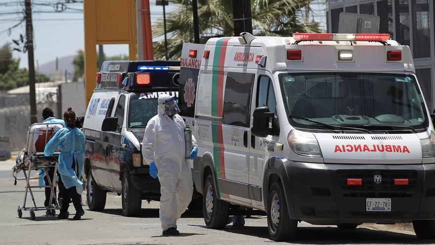 México acumula 215.547 decesos y 2.333.126 contagios por coronavirus