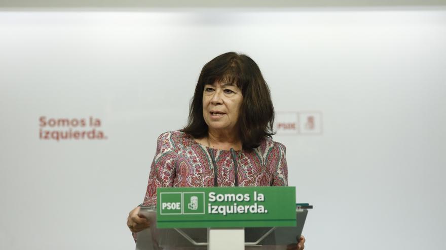 """Narbona recuerda que la Ejecutiva del PSOE no se ha pronunciado sobre el 155 y de momento solo hay """"especulaciones"""""""