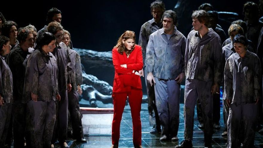 La Ópera de Viena estrena un viaje a las tinieblas del populismo xenófobo
