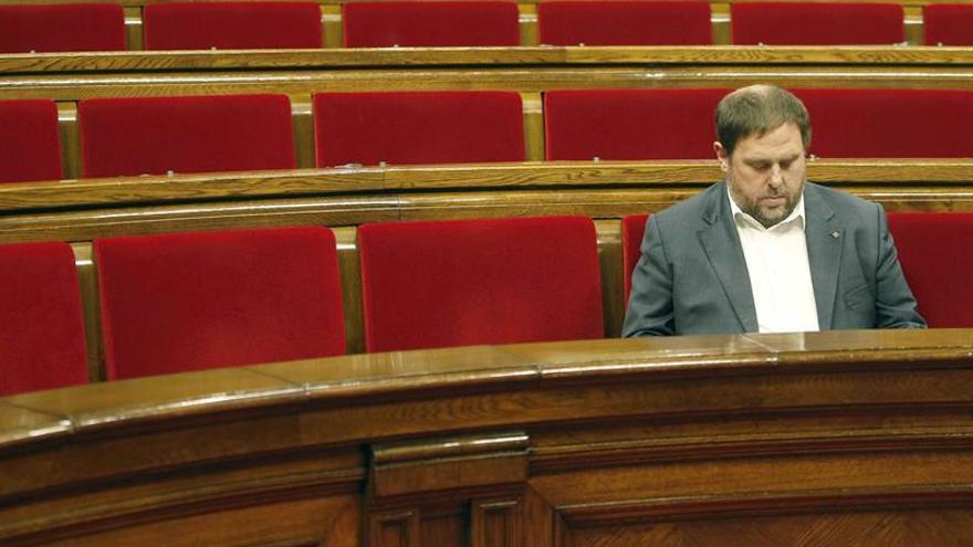 """Junqueras acusa al PP de """"retorcer"""" el Estado de derecho """"fabricando pruebas"""""""