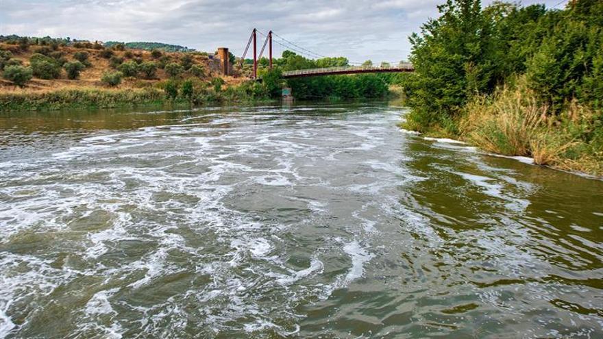 Denuncian de nuevo aparición de espumas en el Tajo a su paso por Toledo