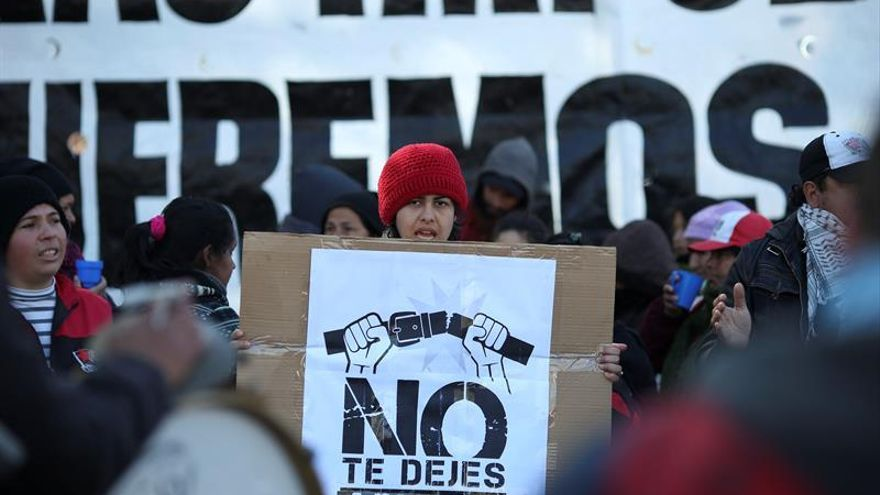 Cortes de calles en Buenos Aires anticipan gran marcha de protesta sindical