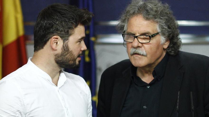 ERC entrega a Rajoy una copia de las grabaciones de Fernández Díaz y le pide la cabeza del ministro