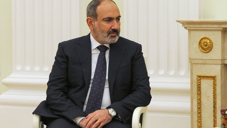 Pashinián dice que Armenia está preparada a retirar sus tropas de la frontera