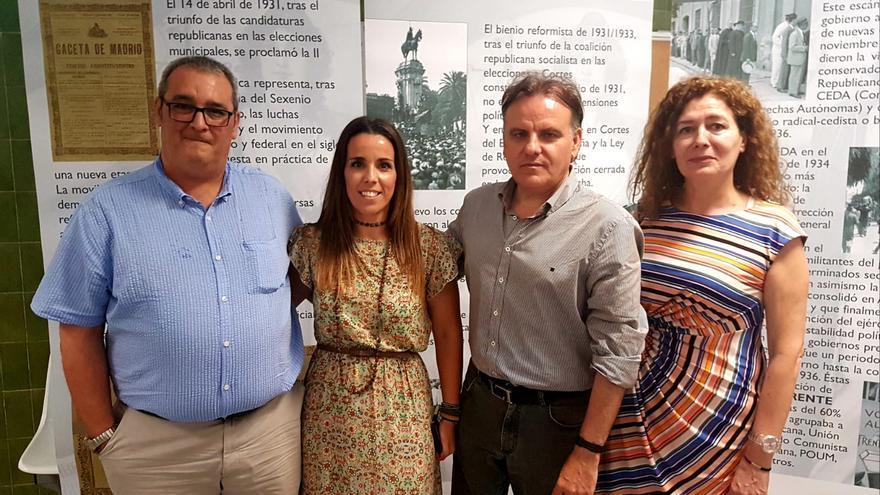 Los profesores de Historia del IES Tartessos Camas