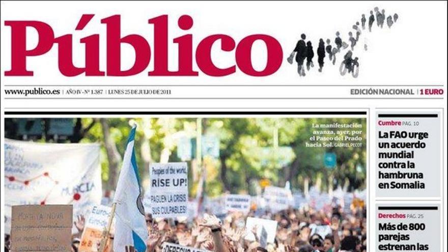 De las portadas del día (25/07/2011) #8