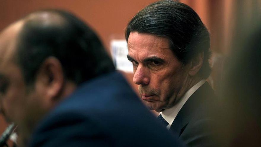 Aznar dice que el proteccionismo actual no es sólo atribuible a Trump