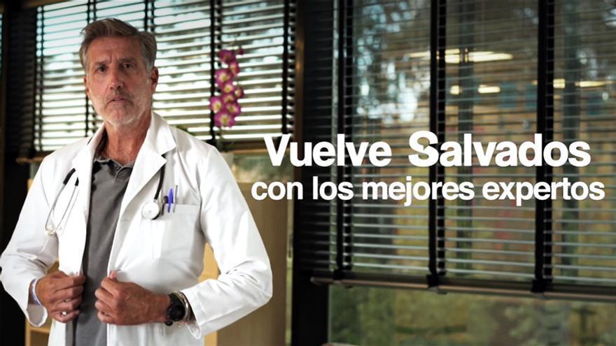 Emilio Aragón en la nueva promo de 'Salvados'