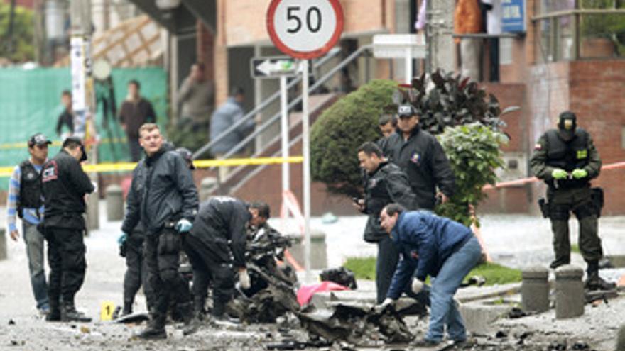 Atentado con coche bomba en Colombia