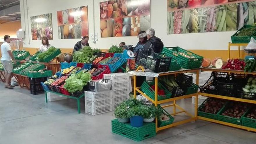 Imagen de archivo del Agromercado de Breña Alta.