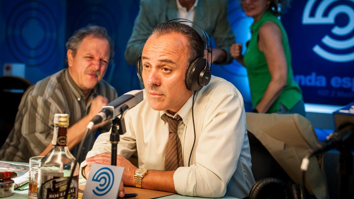 Javier Gutiérrez, en una escena de 'Reyes de la noche'