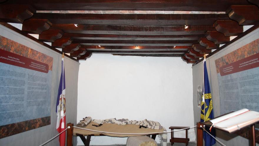 El calabozo del Castillo de Santa Catalina, en la imagen, podrá visitarse desde este jueves de manera guiada.