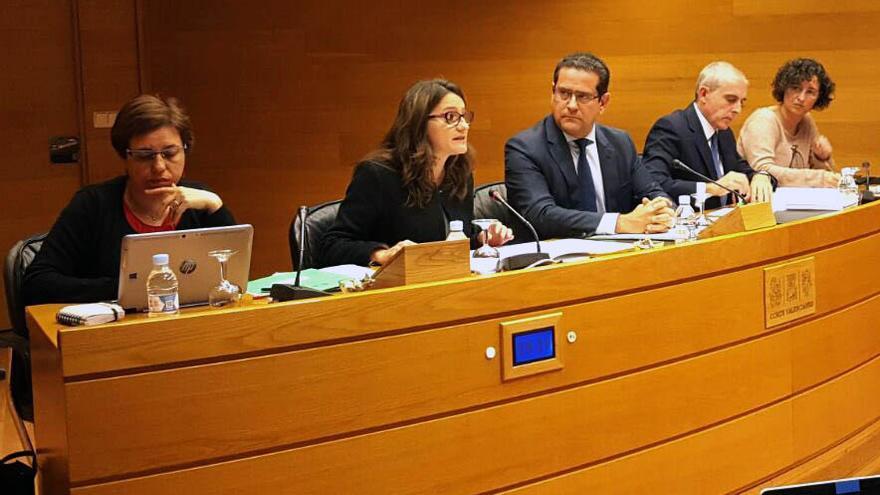 Mónica Oltra da cuenta de los presupuestos en materia de Igualdad y Políticas Inclusivas en las Corts