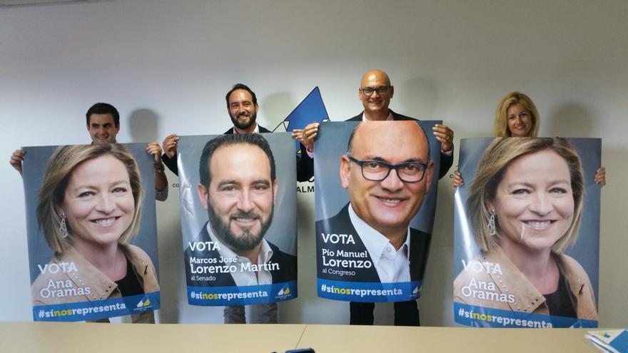 Presentación de los candidatos y suplentes de CC.