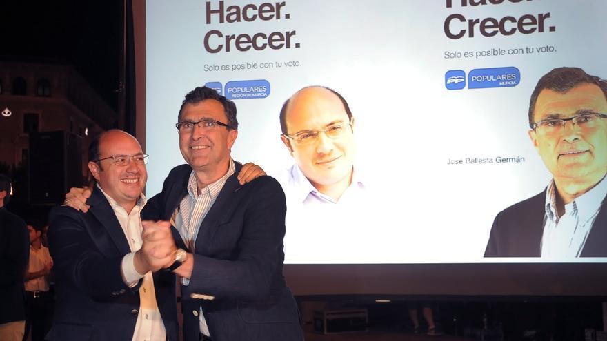 """Los candidatos populares a la Presidencia de la Región y a la Alcaldía de Murcia, en su """"pegada digital"""""""