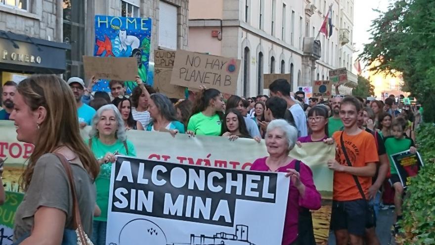 Manifestación por el clima en Badajoz