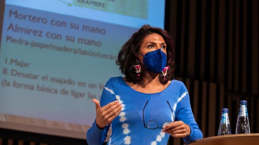 Carmen Abad es miembro de la Academia Aragonesa de Gastronomía