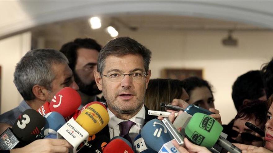 Catalá: Habrá que estar vigilantes para que se cumpla la ley en Cataluña