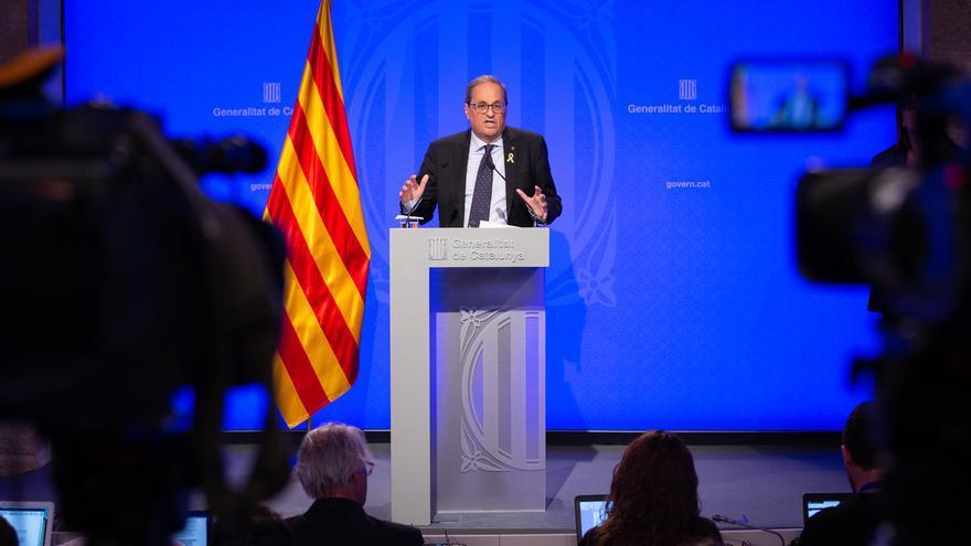 """Torra reclama a Sánchez """"coraje"""" para retomar el diálogo e insiste en la figura del relator"""