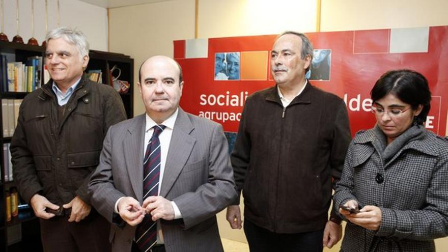 De la visita de Gaspar Zarrías a Telde #1